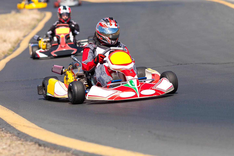 Conduite de Karting